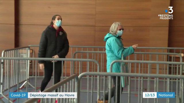 Coronavirus : campagne de dépistage massif au Havre