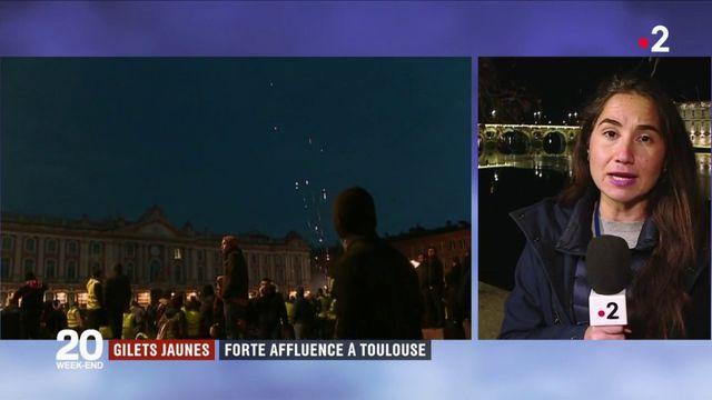 """""""Gilets jaunes"""" : forte affluence à Toulouse"""