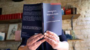 Haurus présente son livre, le 17 janvier 2021. (JEAN-BAPTISTE QUENTIN / MAXPPP)