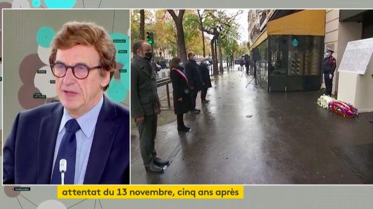 Jean-Pierre Albertini invité de franceinfo le 13 novembre 2020. (FRANCEINFO)