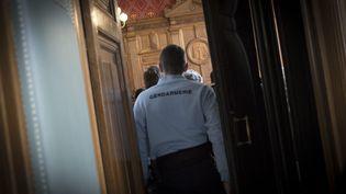 Quatre hommes, suspectés d'être impliqués dans les attentats perpétrés à Paris, ont été déférés mardi 20 janvier matin au tribunal de Paris, en vue de leur possible mise en examen. (MAXPPP)