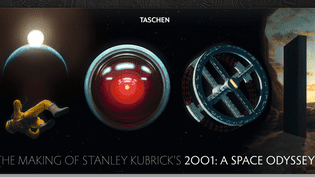 """""""The Making os Stanley Kubrick's 2001: A Space Odyssey"""" : couverture  (Taschen)"""