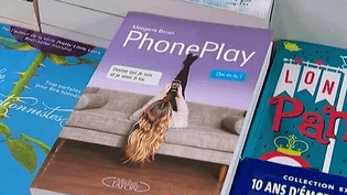 "Couverture de ""PhonePlay"" écrit par Morgane Bicail  (France3/Culturebox)"