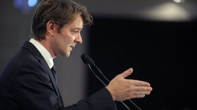 François Baroin le 9 novembre dernier (ERIC PIERMONT / AFP)