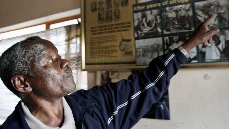 Sam Nzima a su capter «la brutalité de l'oppression de l'apartheid» (GIANLUIGI GUERCIA / AFP)