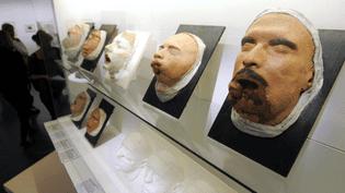 Moulages en plâtre de visages mutilés de la Grande Guerre  (PHOTOPQR/L'EST REPUBLICAIN )