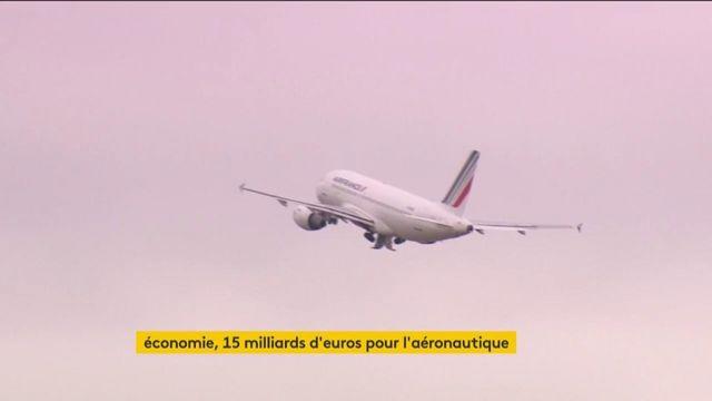 Aéronautique : un plan de soutien à 15 milliards d'euros