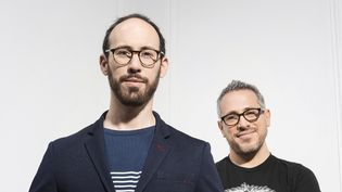 Yaron Herman et son complice Ziv Ravitz  (Sébastien Vincent / Decca)