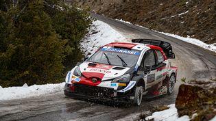 Sébastien Ogier au Rallye de Monte-Carlo (WRC), 2021 (GREGORY LENORMAND / DPPI)