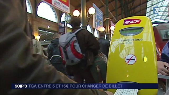 SNCF : l'échange et l'annulation de billets bientôt payants ?