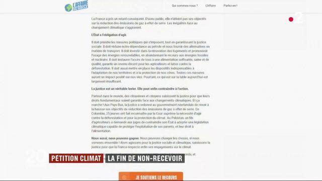 Pétition climat : la réponse du ministre de la Transition écologique