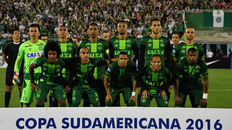 L'équipe de Chapecoense (NELSON ALMEIDA / AFP)