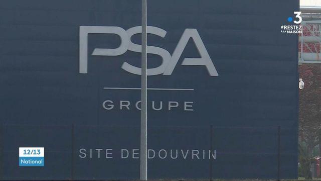 Coronavirus: malgré le confinement, PSA veut reprendre ses activités dans une usine