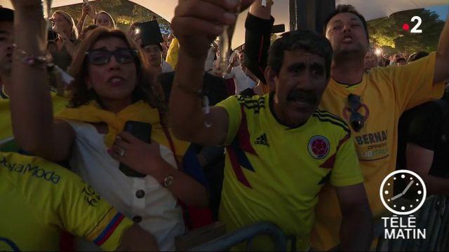 Tour de France: les supporters colombiens exultent