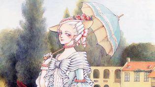 """Marie-Antoinette, la jeunesse d'une reine"" Fuyumi SORYO (Glénat)  (Fuyumi Soryo / Kodansha LTD)"