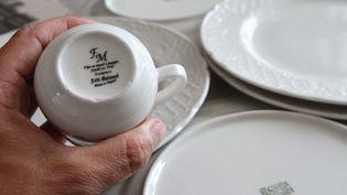 De la porcelaine de Limoges certifiée. Image d'illustration. (JEAN-FRANÇOIS FREY / MAXPPP)