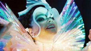 """Björk dans le clip de """"The Gate""""  (Nowness / Capture image YouTube)"""