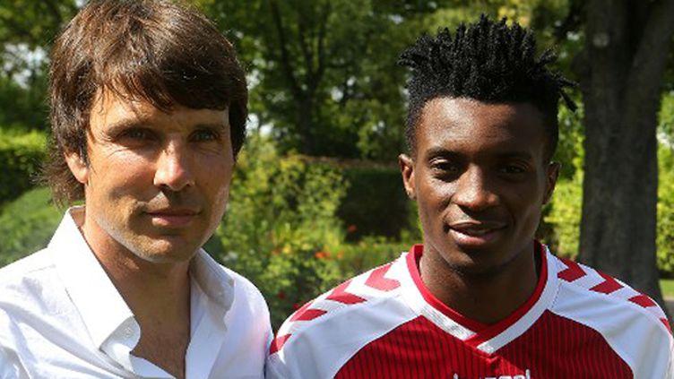 Jean-Luc Vasseur et Benjamin Moukandjo, deux des arrivées importantes à Reims à l'intersaison