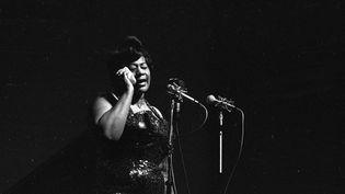 Ella Fitzgerald sur scène en 1960. (MICHAEL OCHS ARCHIVES / MICHAEL OCHS ARCHIVES)