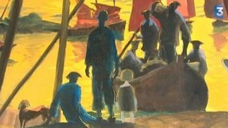 Gildas Flahaut : marin, peintre, voyageur  (Culturebox)