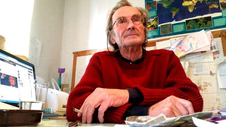 """Hubert Jourdan préside l'association Habitat et citonneyeté et voit dans l'acte de Felix un acte """"tout à fait normal"""". (RADIO FRANCE / BENJAMIN ILLY)"""