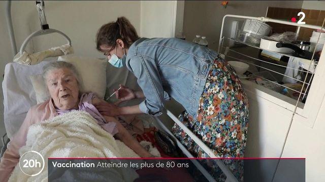 Covid-19 : la vaccination des plus de 80 ans directement à domicile