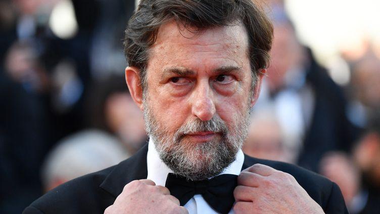 Nanni Moretti au 70e anniversaire du Festival de Cannes en mai 2017 (ALBERTO PIZZOLI / AFP)