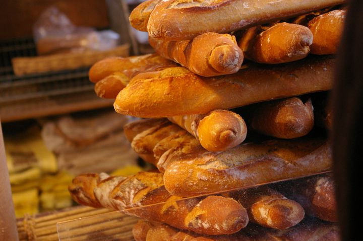 Des baguettes de pain. (NATHANAEL CHARBONNIER / FRANCE-INFO)