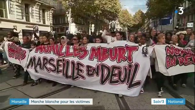 Marseille : une marche blanche mouvementée en hommage aux victimes de l'effondrement d'immeubles