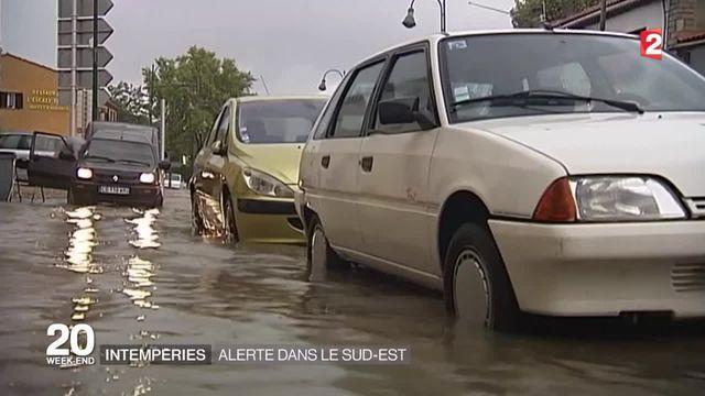 Nouvelle alerte aux orages et aux inondations dans le Sud-Est