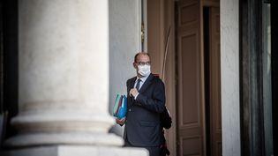 Le Premier ministre Jean Castex, le 29 juillet 2020 à l'Elysée. (NICOLAS ORCHARD / HANS LUCAS / AFP)