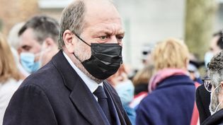 Le Ministre de la Justice Eric Dupont-Moretti le 30 avril 2021. (ANTONIN BURAT / HANS LUCAS)