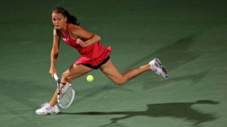Agnieszka Radwanska rejoint les quarts de finale