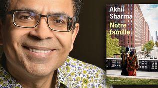 """Akhil Sharma, auteur de """"Notre famille"""" (L'Olivier)  (ANDERSEN ULF/SIPA)"""