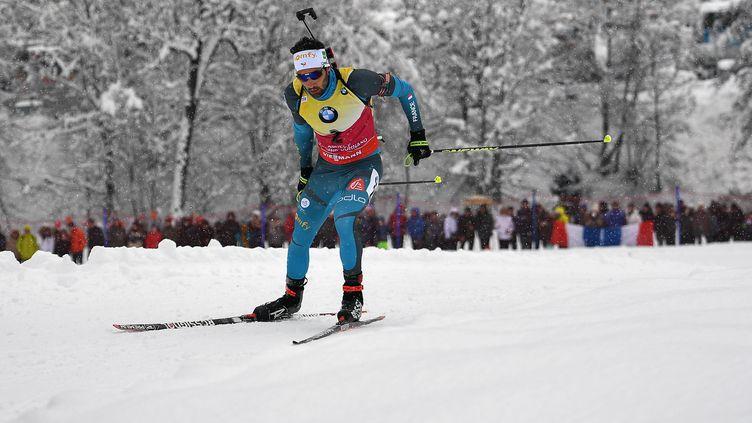 Martin Fourcade a attendu la dernière épreuve pour s'imposer au Grand Bornand.