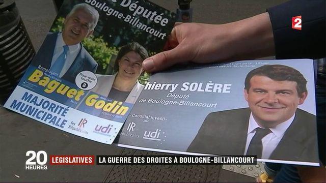 Législatives : la guerre des droites à Boulogne-Billancourt
