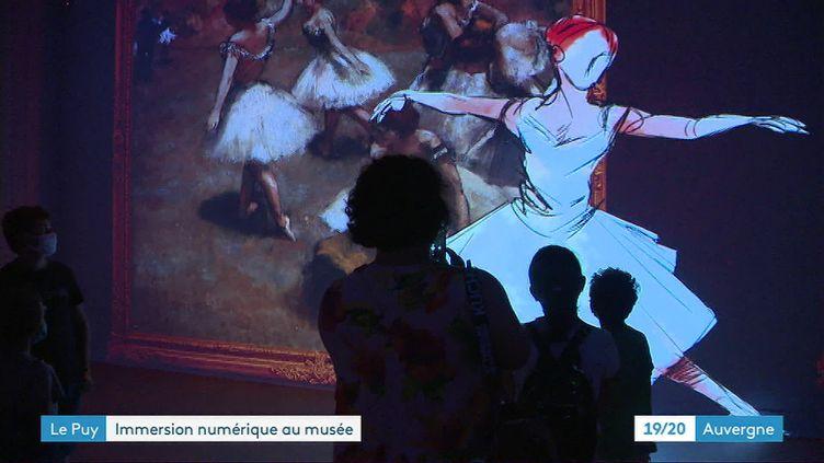 Hôtel des Lumières, spectacle immersif de son et lumière au Puy-en-Velay, Haute-Loire (France 3 Auvergne)