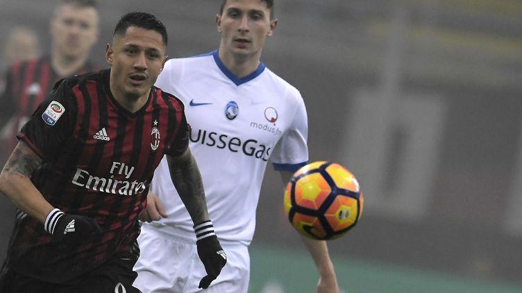 Deuxième nul consécutif pour les Milanais (TIZIANA FABI / AFP)