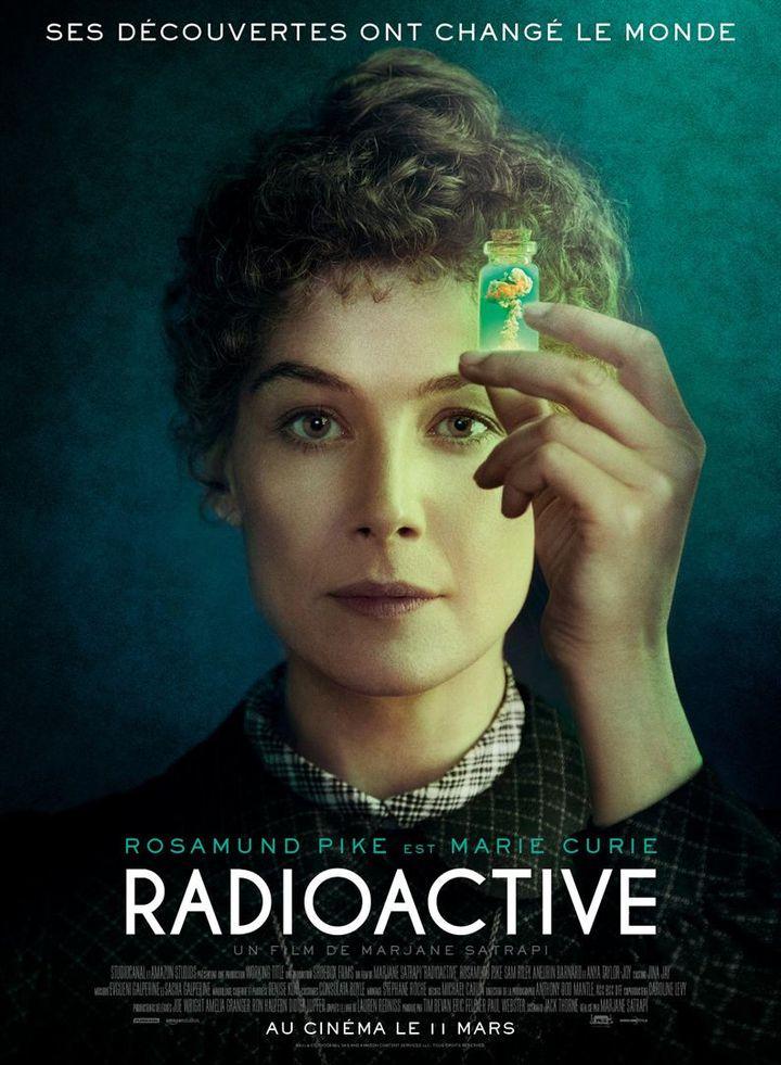 """L'affiche de """"Radioactive"""" de Marjane Satrapi. (STUDIOCANAL)"""
