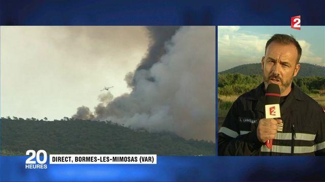 """Bormes-les-Mimosas : """"nous ne souffrons pas d'un manque de moyens, mais de la multiplicité des départs de feu"""""""