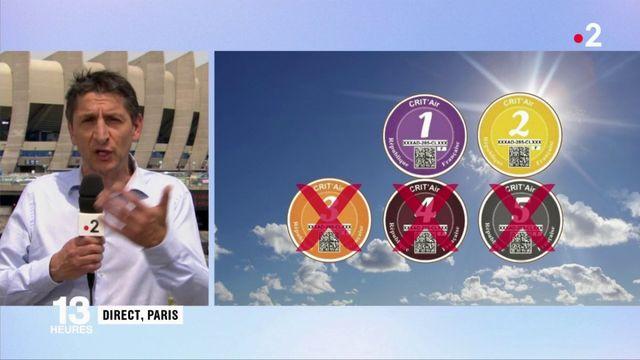 Pollution : la circulation différenciée annoncée à Paris