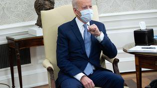 Le président américain Joe Biden à la Maison Blanche, lundi 1er février 2021. (SAUL LOEB / AFP)
