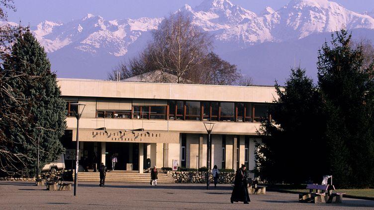 Le campus Saint Martin d'Heres de l'université Stendhal, àGrenoble, en juilet 2006. (GUIZIOU FRANCK / AFP)