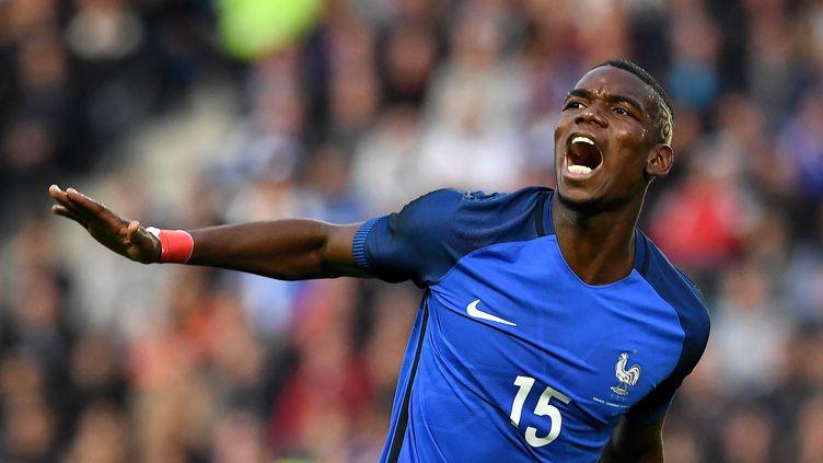 Paul Pogba sera à suivre ce soir, face à l'Ecosse. (FRANCK FIFE / AFP)