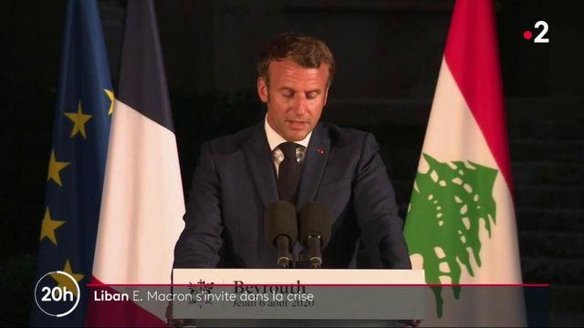 Explosions à Beyrouth : Emmanuel Macron s'invite dans la crise libanaise