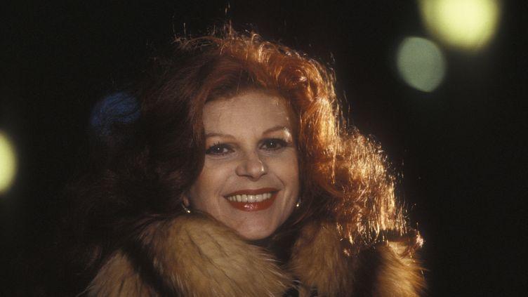 La chanteuse Milva en 1982 (MARCELLO MENCARINI / LEEMAGE via AFP)