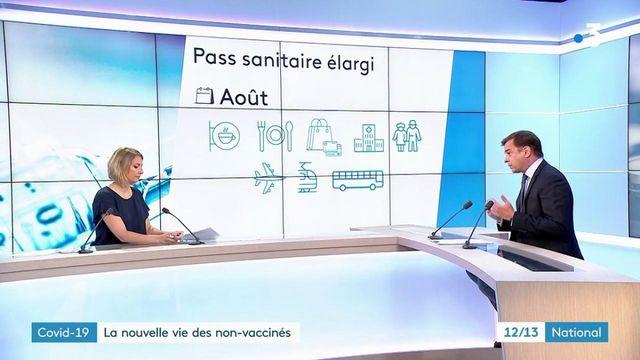 Covid-19 : à quoi va ressembler la vie des non-vaccinés ?