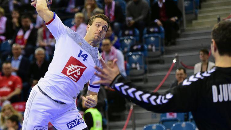 Kentin Mahé, le joueur de l'équipe de France (ATTILA KISBENEDEK / AFP)