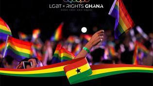 Bandeau de la page Facebook de l'association ghanéenne LGBT + Rights qui défend les droits des personnes homosexuelles et transgenres. (CARLITO, LGBT+ Rights Ghana)