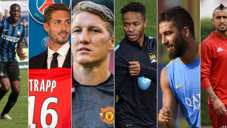 Geoffrey Kondogbia, Kevin Trapp, Bastian Schweinsteiger, Raheem Sterling, Arda Turan et Arturo Vidal ont animé le mercato d'été